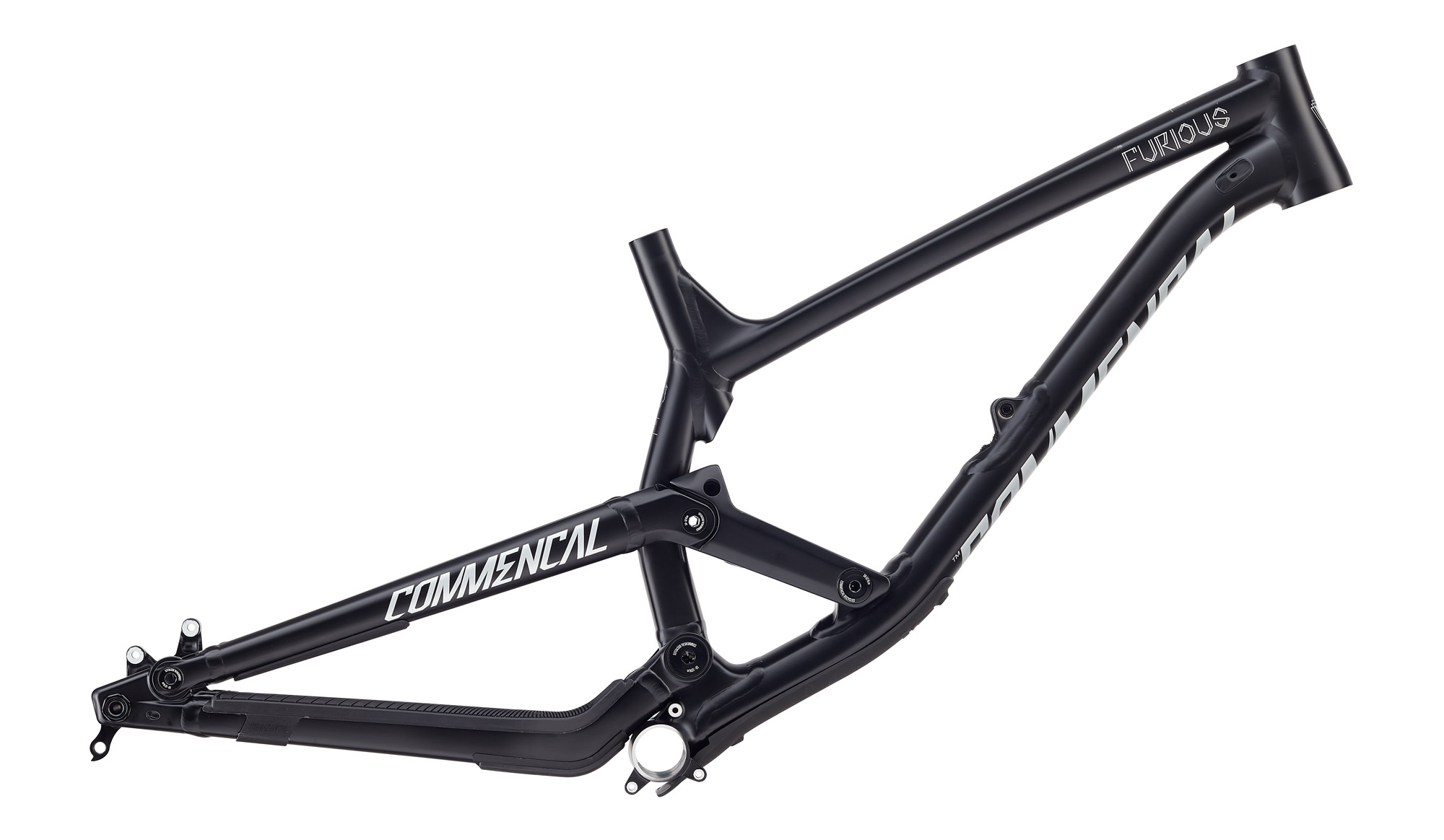 COMMENCAL 2018 | FRAME FURIOUS 650B BLACK 2018