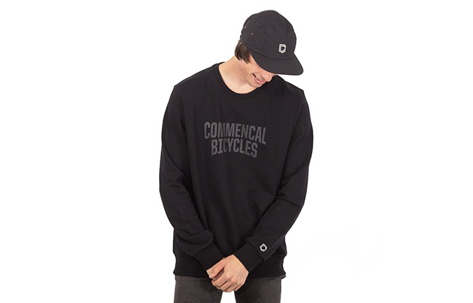 COMMENCAL CREWNECK BLACK