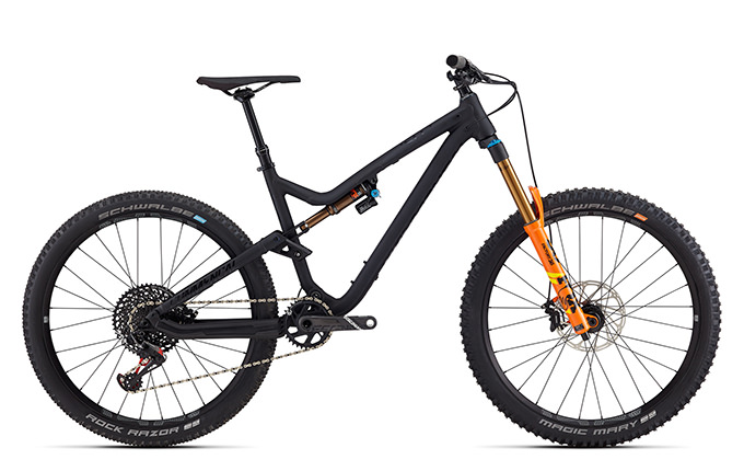 META AM V4.2 WORLD CUP 650B FOX BLACK ANODIZED 2018