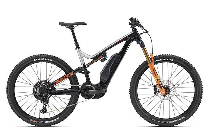 META POWER RACE 650B+ FOX GREY/BLACK/ORANGE 2018