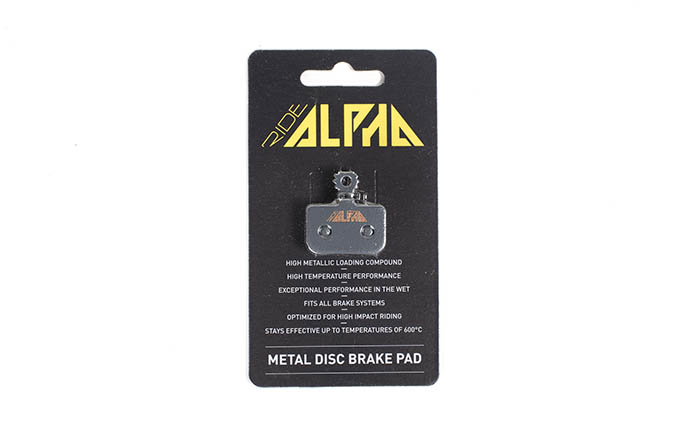 RIDE ALPHA SINTERED BRAKE PADS FOR AVID LEVEL DB1/DB3/DB5