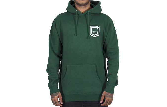 COMMENCAL SHIELD HOODIE DARK GREEN