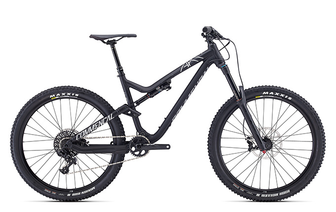 META AM V4.2 ESSENTIAL 650B BLACK 2017 (M)