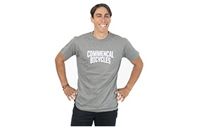 COMMENCAL T-SHIRT GREY
