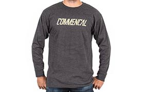 T-SHIRT LONG SLEEVE CORPORATE CHARCOAL 2018