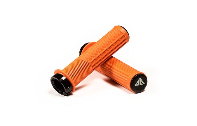 RIDE ALPHA DOWNHILL GRIPS ORANGE