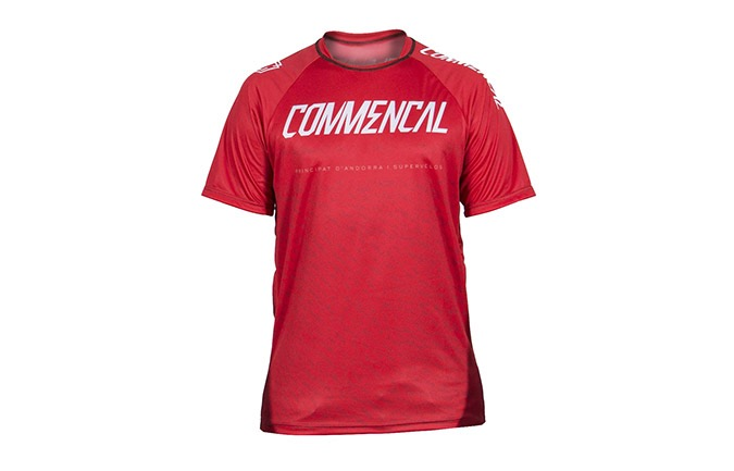SHORT SLEEVE COMMENCAL JERSEY RED