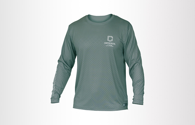 COMMENCAL LONG SLEEVE JERSEY GREEN