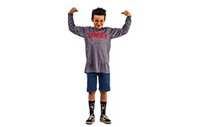 KIDS LONG SLEEVE JERSEY AMAURY PIERRON REPLICA 2019