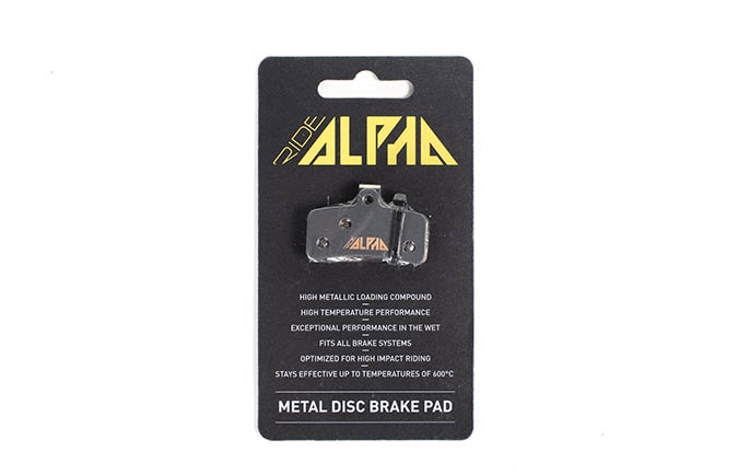 RIDE ALPHA SINTERED BRAKE PADS FOR SHIMANO SAINT/ZEE 2016