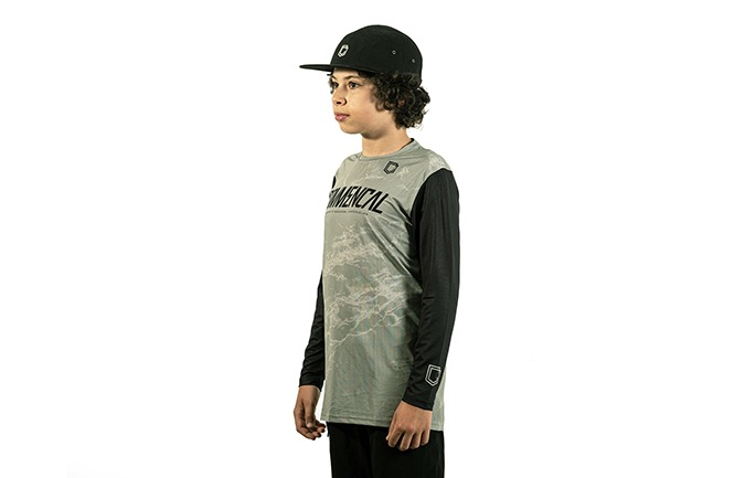 COMMENCAL KIDS AMAURY JERSEY HERITAGE GREEN 2020
