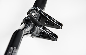RIDE ALPHA DH DIRECT MOUNT 50 MM EXTENSION 20 MM RISE STEM BLACK