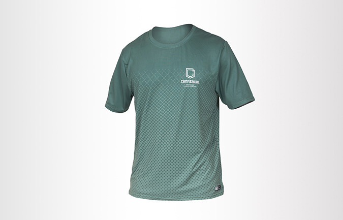 COMMENCAL SHORT SLEEVE JERSEY GREEN