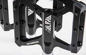 RIDE ALPHA MAGNESIUM PEDALS BLACK