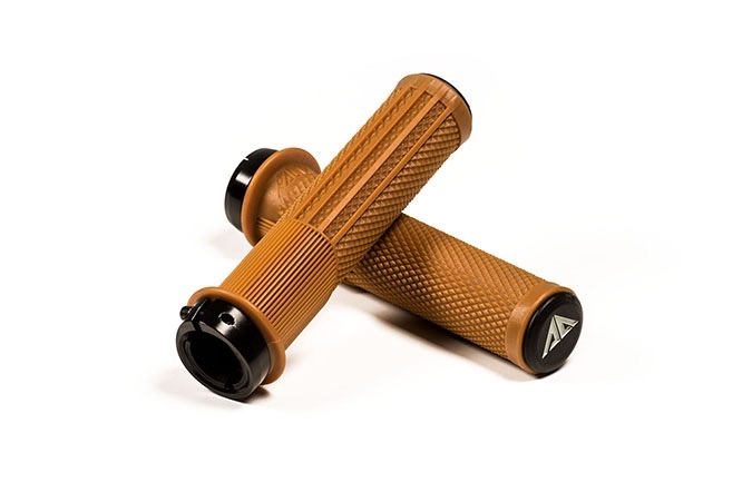 RIDE ALPHA DOWNHILL GRIPS BROWN