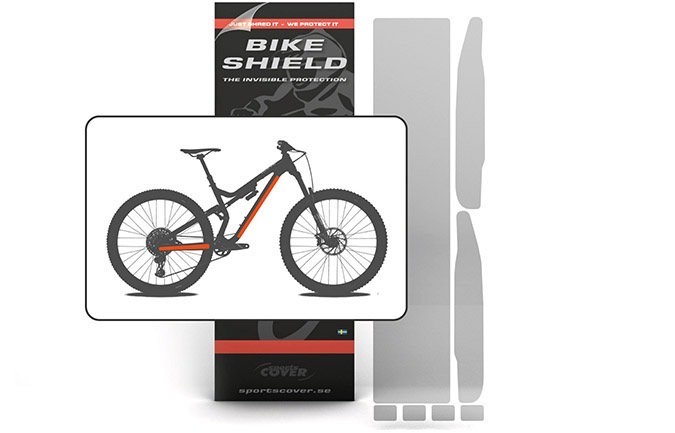 BIKESHIELD STANDARD KIT SHINY