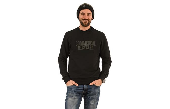 COMMENCAL CREWNECK BLACK 2020