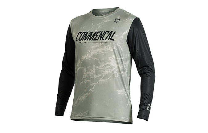 COMMENCAL LONG SLEEVE JERSEY HERITAGE GREEN