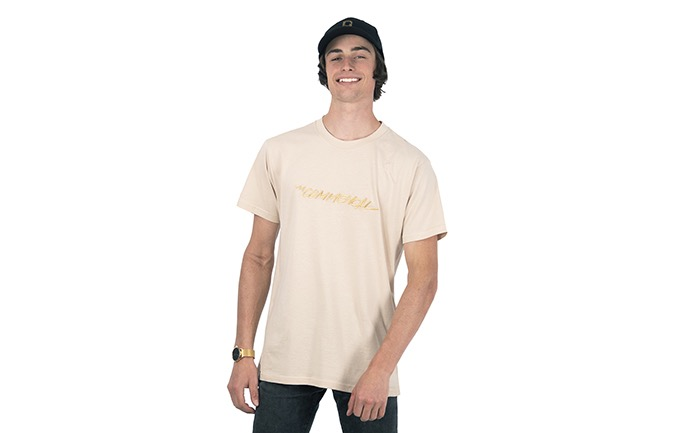 COMMENCAL T-SHIRT OFF-WHITE
