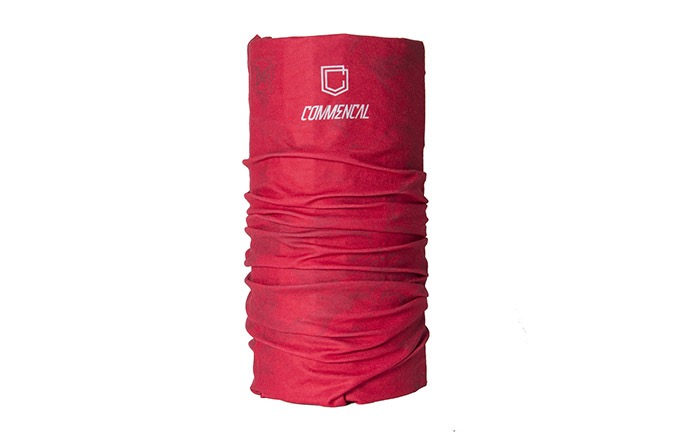 COMMENCAL MICROFIBER BUFF NECKWARMER RED