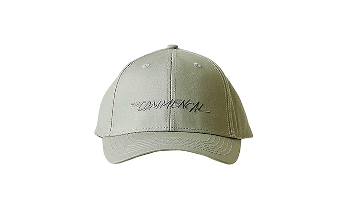 COMMENCAL CURVED PEAK TRUCKER CAP KHAKI