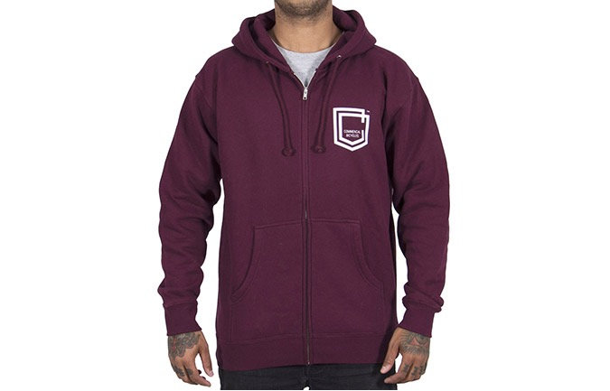 COMMENCAL SHIELD ZIPPER MAROON